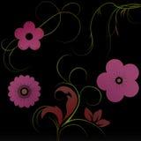 blommar lutning vektor illustrationer