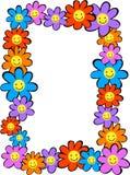 blommar lyckligt royaltyfri illustrationer