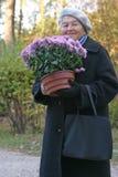 blommar lyckligt Royaltyfri Bild