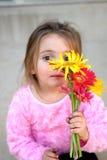 blommar mitt ser Arkivbild