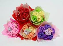 blommar origami Royaltyfri Foto