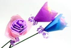 blommar origami fotografering för bildbyråer