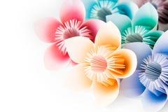 blommar origami royaltyfria foton