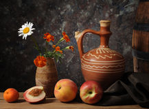 blommar persikor Royaltyfri Foto