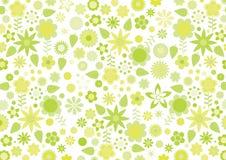 blommar retro yellow för skraj leavesmodell Fotografering för Bildbyråer