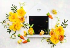 Blommar sammansättning Arkivfoto