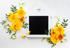 Blommar sammansättning Fotografering för Bildbyråer