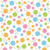 blommar seamless Arkivfoto