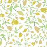 Blommar seamless mönstrar Royaltyfri Foto