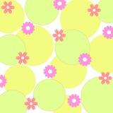 blommar skraj stock illustrationer