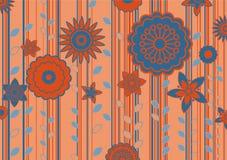 blommar skraj vektor illustrationer