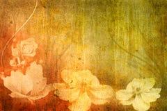 blommar tappning Royaltyfri Foto