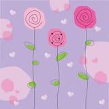 blommar valentinen Royaltyfri Foto