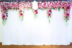 Blommar valvgången Fotografering för Bildbyråer
