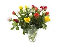 blommar vasen Arkivfoton