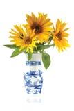 blommar vaze Royaltyfria Foton