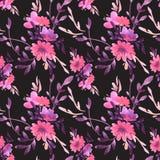 Blommar vektorn pattern13 Arkivbild