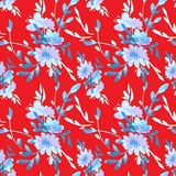 Blommar vektorn pattern14 Royaltyfria Foton