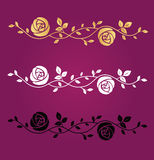 Blommar vektorsymbol Royaltyfri Bild