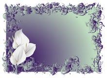 blommar white stock illustrationer
