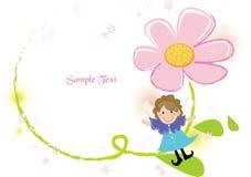 blommaramtrollkarl Royaltyfria Foton