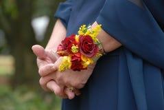 blommaseriebröllop Royaltyfri Fotografi