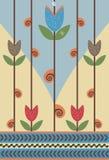 blommasnail Arkivbild