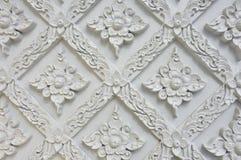 Blommastuckatur av Wat Se Nas royaltyfri foto