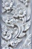 Blommastuckatur av Wat Se Nas arkivbild