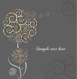 blommaswirl Royaltyfria Bilder