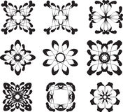 Blommasymboler Arkivbild