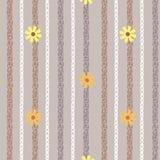 Blommatapet Arkivfoton