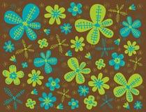 blommatextur Arkivfoton
