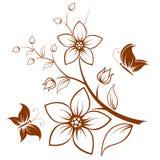 blommatree Royaltyfria Foton
