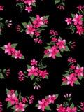 Blommatygmodell Stock Illustrationer