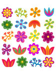 Blommauppsättning Arkivbild