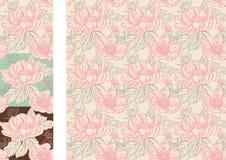 blommavägg Arkivbilder