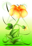 blommavektor Royaltyfria Bilder