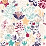 Blommavektorsammansättning Royaltyfria Bilder