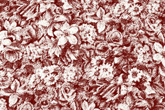 blommawallpaper Royaltyfria Foton