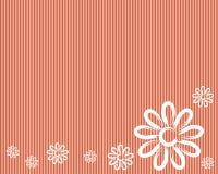 Blommawallpaper Royaltyfri Illustrationer