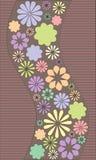 blommawaves Royaltyfri Fotografi