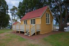 Blommig Gully Beaconsfield, Tasmanien för gammal skola Fotografering för Bildbyråer