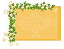 blommig persika för bakgrund vektor illustrationer