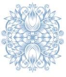 blommig prydnad Royaltyfri Foto
