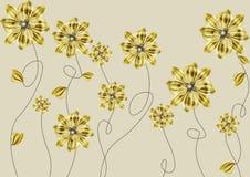 blommor royaltyfri illustrationer