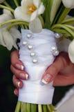 blommor använde bröllop royaltyfria foton
