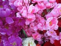 Blommor bakgrund och tapet Fotografering för Bildbyråer