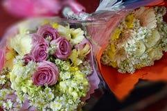 Blommor Bouquette Royaltyfri Bild