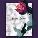Blommor för bröllopinbjudanram, gömma i handflatan, suckulenten, sidor, vatten vektor illustrationer